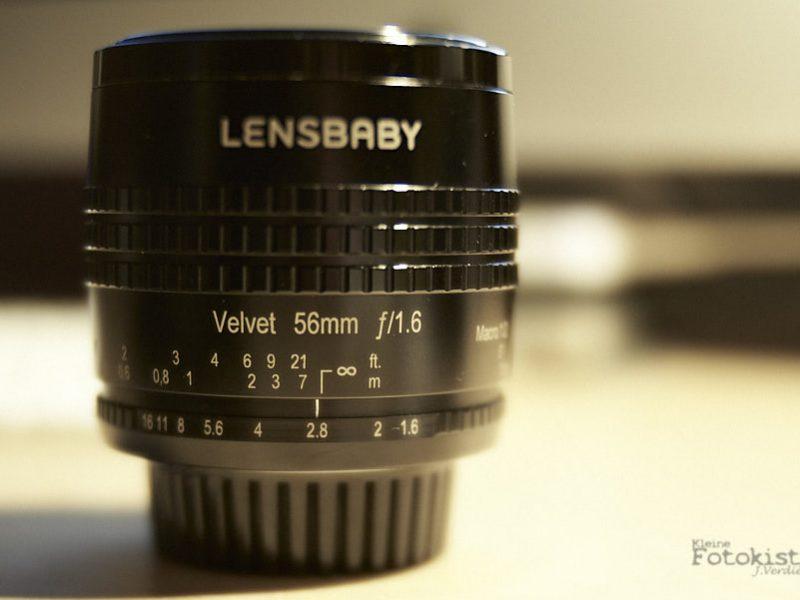 Lensbaby Velvet 56mm – erste Schritte